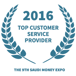 2016 Top customer service provider award