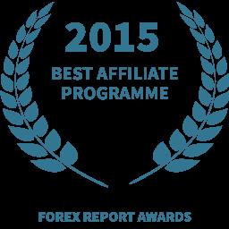 2015 Best affiliate programme award