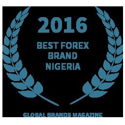 2016 Best Forex Brand- Nigeria award