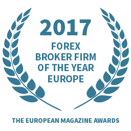 2017 Forex Broker Firm of the Year Europe award