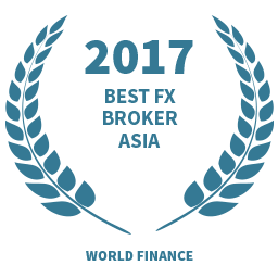 2017 Best FX Broker Asia award