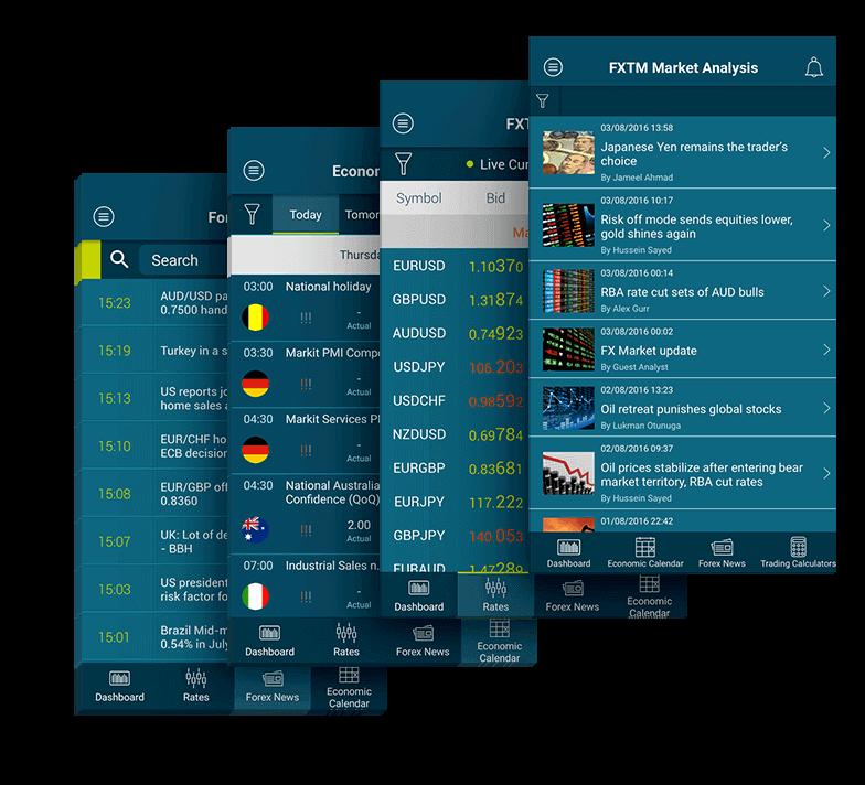 외환 트레이더를 위한 FXTM 모바일 앱