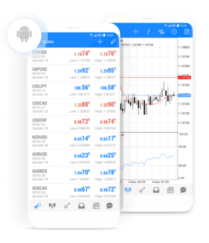 MetaTrader 5 App for Android