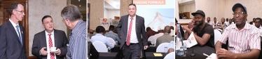 Traders captivated by UTF seminar and workshop in Johannesburg